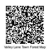 QR Code Valley Lane Town Forest Map